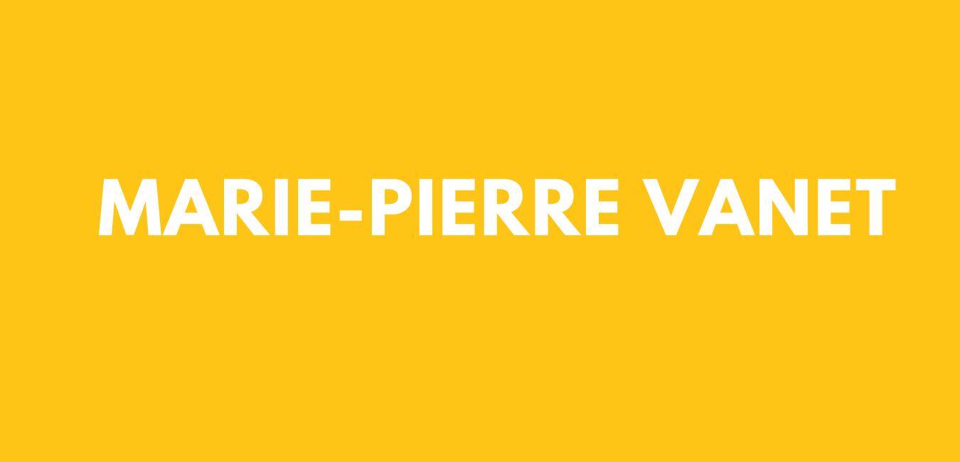 Logo Marie-Pierre Vanet